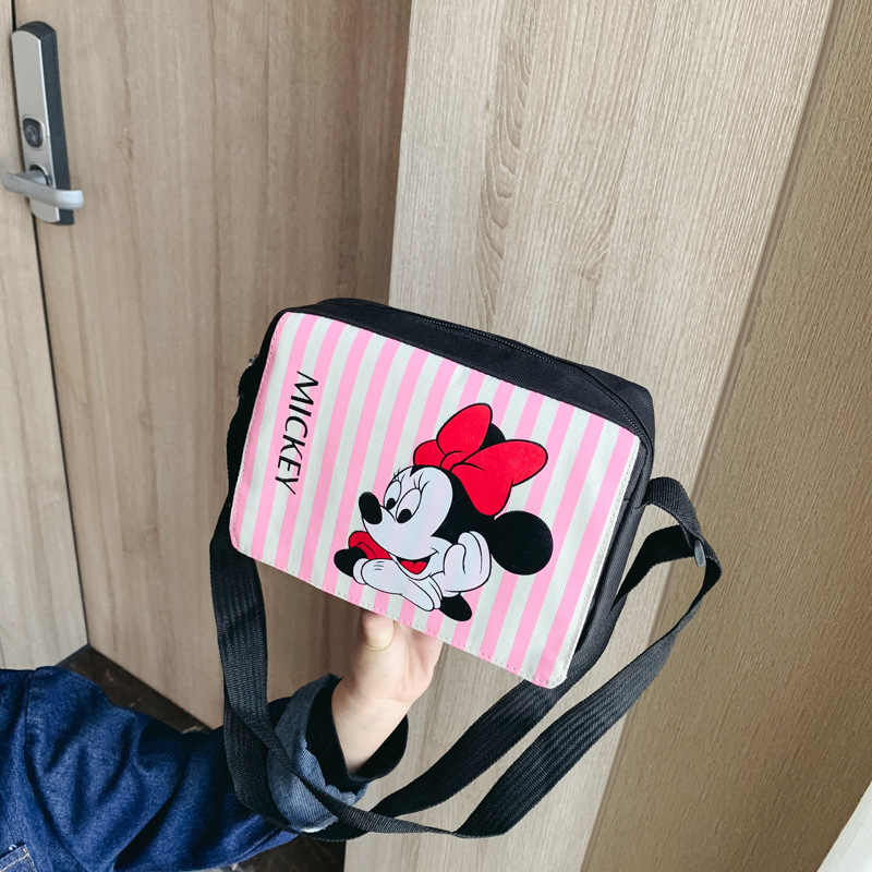 2019 neue Mode Mickey Handtaschen Cartoon Schulter Tasche Nette Minnie Mini Schul Mädchen Crossbody-tasche Geburtstag Geschenk