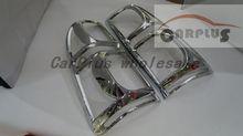 Free Shiping FOR 2012-2014 HILUX VIGO Tail Lamp Cover REAR Light cover chrome accsesroy Chrome rear lightcover back lamo cover