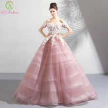 shpitsa Floral Evening Dresses Ball Gown Evening Gowns