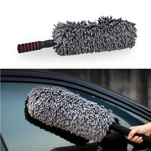 Hoge kwaliteit intrekbare wax wasstraat dduster microfiber auto stofdoek poetsdoeken car care schone borstel 1 stks