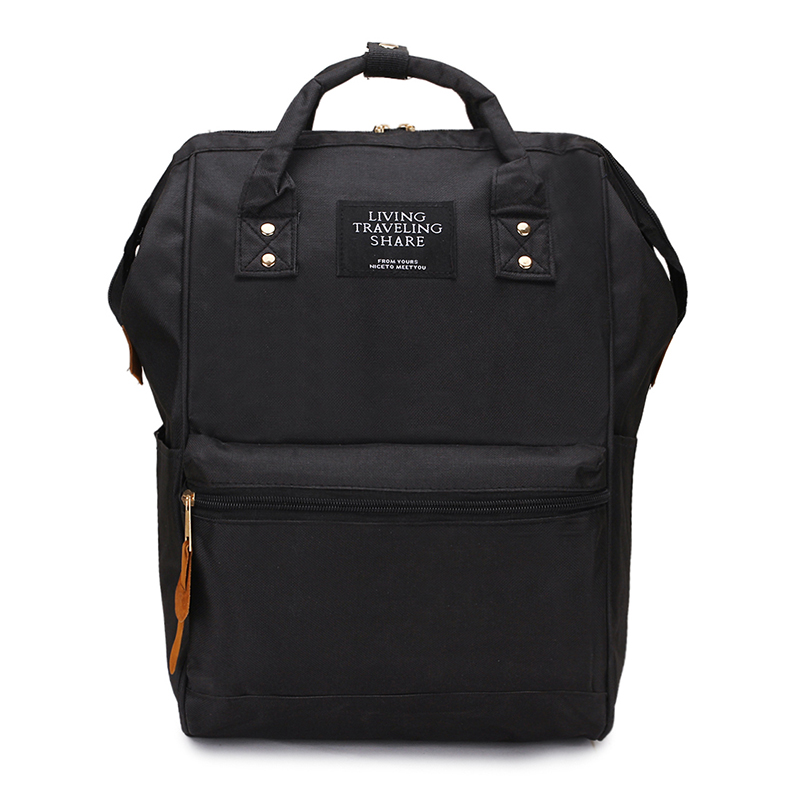 2018 New Backpack High-capacity Knapsack Women Backpack Computer Pure Color Teenager Backpack Female Academy Mochila Bagpack