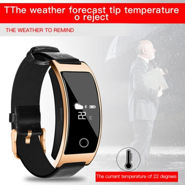 Wristband Blood Pressure Heart Rate Monitor Pedometer Smart Band 2