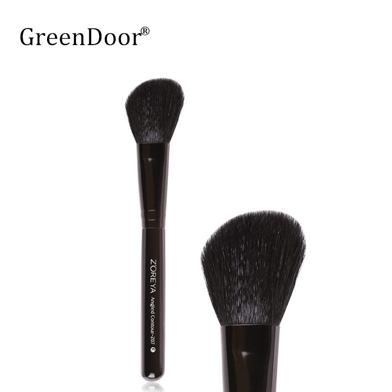 Natural Goat Hair Professional Single Blush Brush Animal Hair Makeup Brushes For Powder Blush Maquiagem Cosmetic Tool Kits horny goat weed 100 capsules bottle natural libido booster promote healthy sexual vitality for men