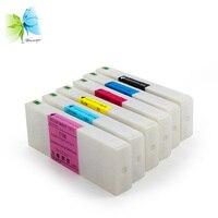 WINNERJET 6 Renkler 700 ml Uyumlu Mürekkep Kartuşu Dolu için Boya Mürekkep ile Epson D3000 Yazıcı|cartridge for printer|ink cartridge for epsoncartridge for epson -