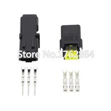 5 Set 3 Pin DJ7037Y-2.5-11/21 Female Male FO Turn Light Plug Lamp Socket FCI Car Sensor Connector For Auto Truck