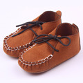 2017 British Style  Baby Boys First Walkers Lace Up Infant Loafers Soft Sole Baby Creeper Boys Casual Flats Kids Moccasins Shoes
