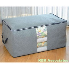 Bamboo charcoal quilted quilt storage bag 60*42*36cm free shipping