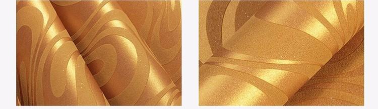 Wysokiej jakości 0.7 m * 8.4 m nowoczesny luksus 3d tapety rolki mural papel de parede uciekają na paski ściany papier 5 kolor r136 23