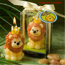 candle cake decorating supplies baby children party birthday decorations kids lion