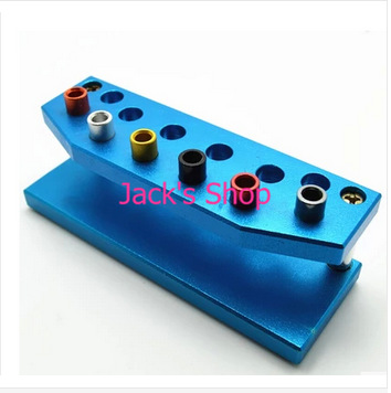Free Shipping High Quality Metal Stand Tool for 6Pcs Watch Screwdrivers