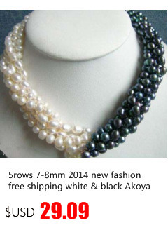 Nouveau Femmes AA 7-8 Mm White Cultured Pearl Akoya Collier 18/""