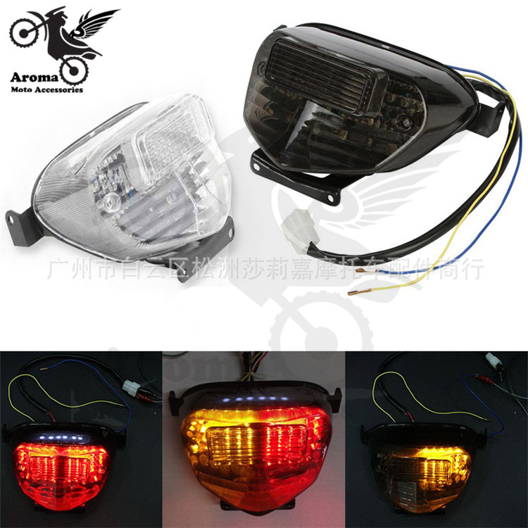 2000 2001 2002 2003 year pro motorbike rear indicator light moto tail light for suzuki gsx-r 600 750 LED motorcycle brake light