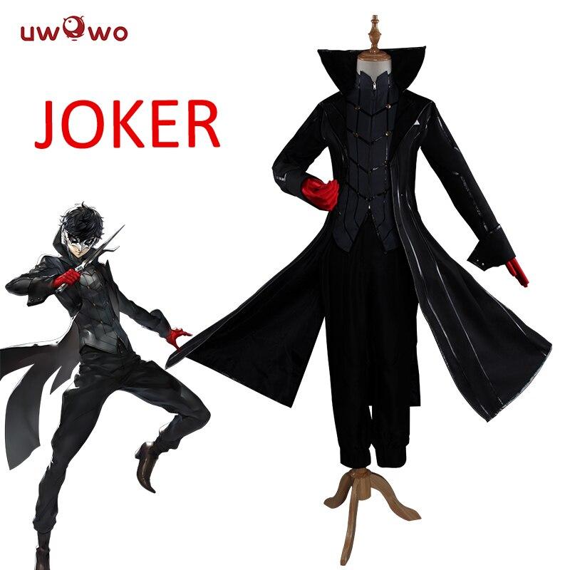 UWOWO Akira Kurusu Cosplay Costume Protagoniste/Persona 5 Cosplay Ren Amamiya/Joker Costume Protagoniste/Persona 5