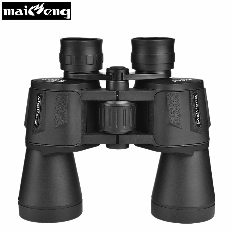 High Times <font><b>20X50</b></font> HD Binoculars Powerful Nitrogen Waterproof Telescope Quality Wide-angle Central Zoom Binocular Lll Night Vision image