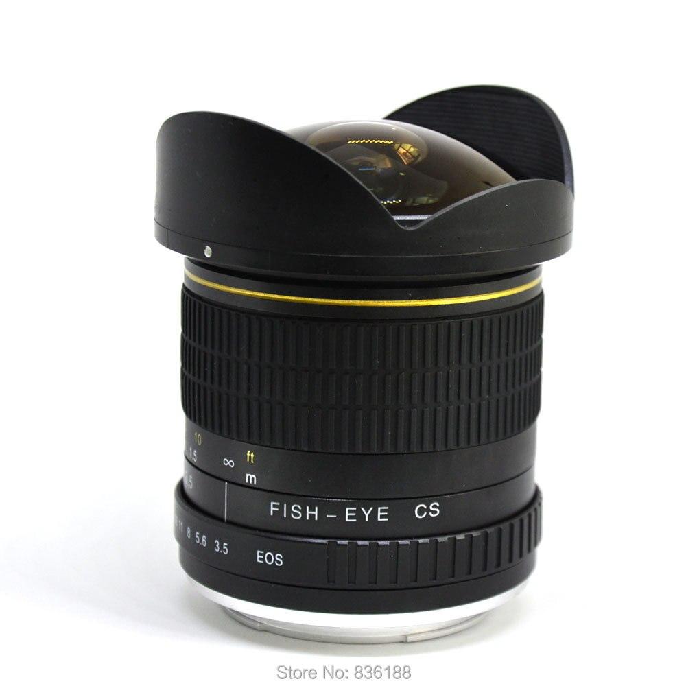 Jintu 8mm profesional lente gran angular para cámara Nikon D7100 ...