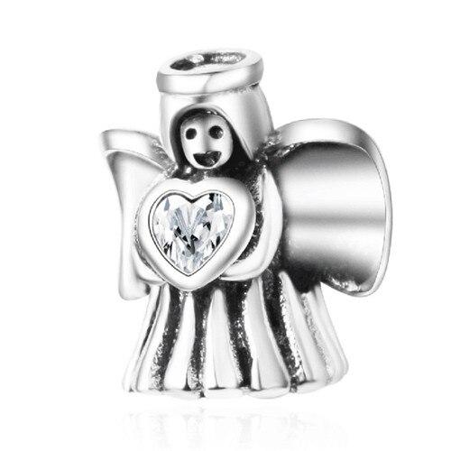Подходит для оригинальных браслетов Pandora DIY Ювелирные изделия Осенняя коллекция ромашки ажурные шармы 925 пробы серебряные бусины в виде цветка - Цвет: A2