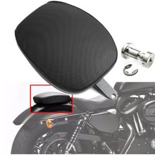 купить for Harley Davidson Sportster XL 883 1200 48 72 Rear Seat Cover Cushion Leather Pillow Motorcycle Passenger Seat Accessories по цене 870.49 рублей