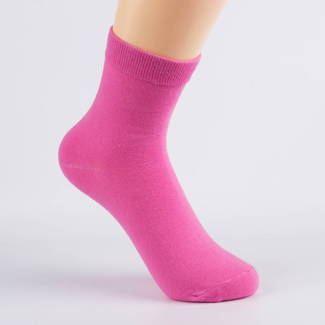 HSS Brand Spring Summer Women's Cotton Socks Cute Solid Color Socks Fashion Casual Dress Women Sock Nice Gift Good Quality Socks