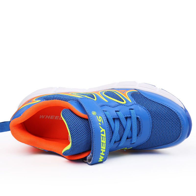 4c8bcb4bbfab ... reduced kd 8 kids shoe with wheels skate roller shoes 2016 children  breathable led shoes kids