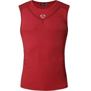 Image 4 - jeansian Sport Tank Tops Tanktops Sleeveless Shirts Running Grym Workout Fitness Slim Compression LSL3306