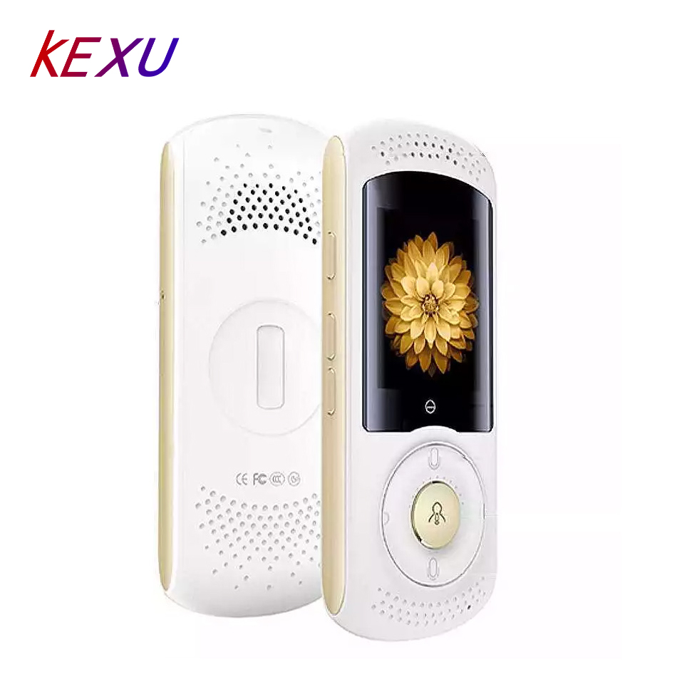 KEXU หน้าจอสัมผัสแบบพกพา translator WIFI + 4G ข้อความ synchronous voice translator 2   Way คำความแม่นยำสูง translator-ใน เครื่องแปล จาก อุปกรณ์อิเล็กทรอนิกส์ บน title=