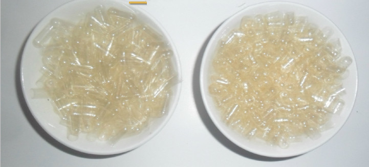100pcs/Lot Free Shipping Transparent Hard Gelatin Empty Capsules Hollow Gelatin Capsules Empty Pill Capsule Medicine Capsule