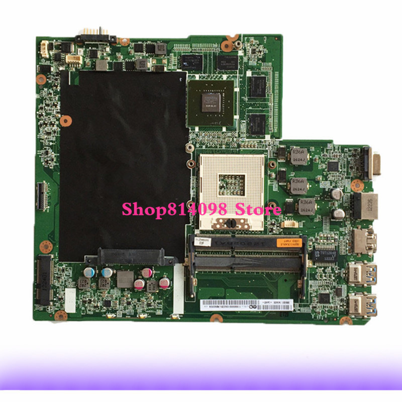 KEFU DALZ3AMB8E0 Z580 mainboard for Lenovo IdeaPad Z580 Laptop Motherboard HM76 USB3.0 DALZ3AMB8E0 GT630M mainboard Tested kefu 5b20l77440 nm a804 for lenovo ideapad 110 15ibr laptop motherboard n3060 tested
