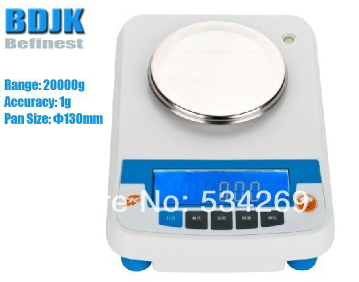 20000g Electronic Balance Measuring Scale Counting Balance and Weight Balance with 1g Scale 4000g electronic balance measuring scale with different units counting balance and weight balance