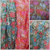 Stretch Lace Small Plum Flower Print Maternity Clothing Scarves Shoes Skirt Lace Fabric Mesh Lining Fabric
