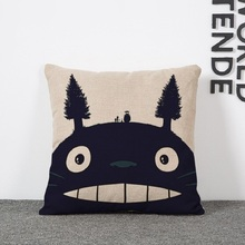 Totoro Pillow Cushion Cover – Home Decorative Pillow Sofa Cushion Cover 4 Edition