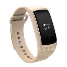 Крови кислородом Bluetooth Smart Браслет для iOS Huawei Носимых устройств смарт-браслет Водонепроницаемый монитор сердечного ритма SmartBand