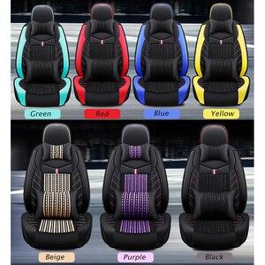 Image 5 - (Trước + Reat) da PU bọc ghế xe ô tô xe Volkswagen tất cả các dòng xe VW Polo Passat B6 B7 B8 GOLF 5 6 7 TOURAN TIGUAN Jetta xe ô tô