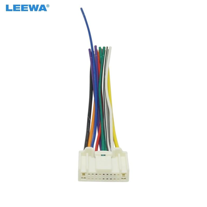 Us 1 85 29 Off Leewa Car Stereo Wiring Harness Adapter Plug For Subaru Legacy Touring Impreza Wagon Levorg Stereo Audio Radio Cable Ca5713 In