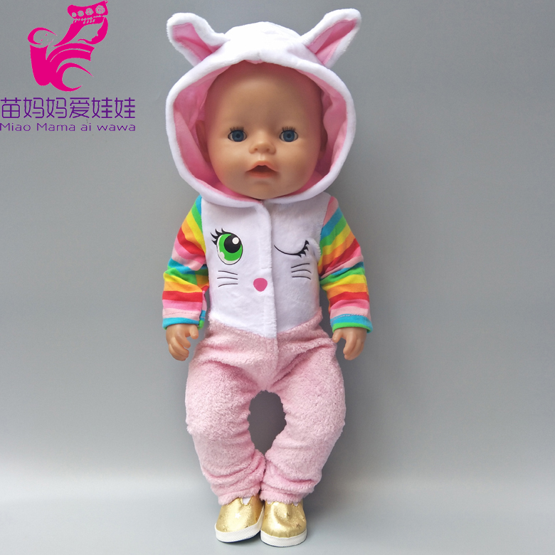 43cm Zapf dolls Baby Born doll clothes coat with hooded hat fit for 18 inch dolls coat sets Baby girl Christmas gift summer set for 18 american girl doll bikini cap summer swimming suit with hat also fit for 43cm baby born zapf doll clothes