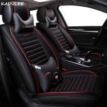 KADULEE искусственная кожа авто чехлы для Dodge всех моделей путешествие Challenger Тюнинг автомобилей авто аксессуары