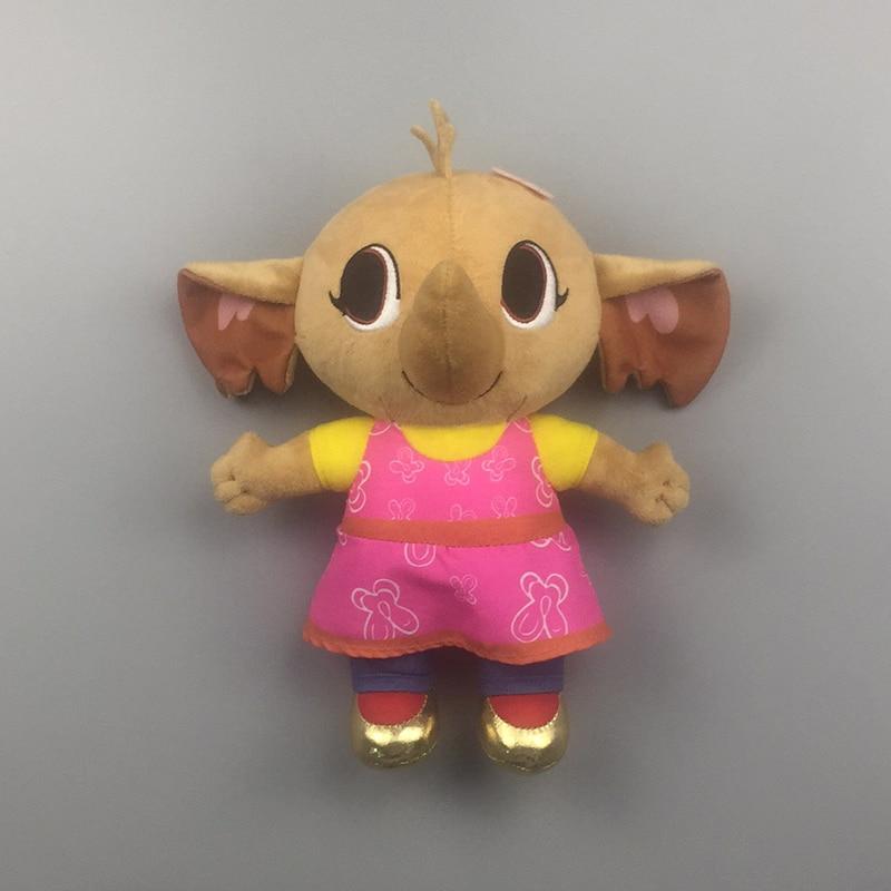 Genuine PLUSH Bing bunny flop sula pando plush toy Hoppity Voosh bing rabbit bunny stuffed animals