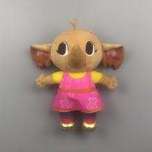 Подлинная плюшевая игрушка Bing bunny flop sula pando плюшевая игрушка Hoppity Voosh bing Кролик Банни мягкие животные игрушки Дети Рождественский подарок
