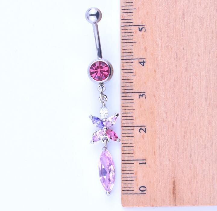HTB1o3z6KpXXXXXBXFXXq6xXFXXXV Exquisite Body Piercing Jewelry Party Navel Ring - 18 Styles