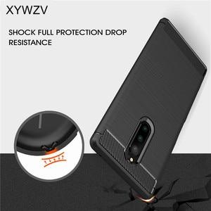Image 3 - Pour couverture SONY Xperia XZ4 étui antichoc armure en caoutchouc coque de téléphone pour SONY Xperia XZ4 couverture arrière pour Xperia XZ4 Shell Fundas