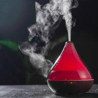 GX. Диффузор 300 мл темное дерево увлажнитель воздуха Эфирные масла Ароматерапия Электрический автоматический Арома диффузор Mist чайник для д...
