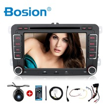 2DIN 7 inch car dvd player radio GPS Dig touch steering wheel control,stereo,radio,usb,BT For VW GOLF VI GOLF POLO T5 SCIROCCO