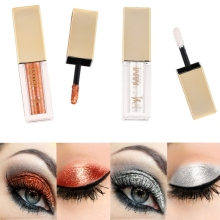 Diamond Glitter Liquid Eyeshadow Beauty Makeup Cosmetics Shimmer Eye Shadow Wate
