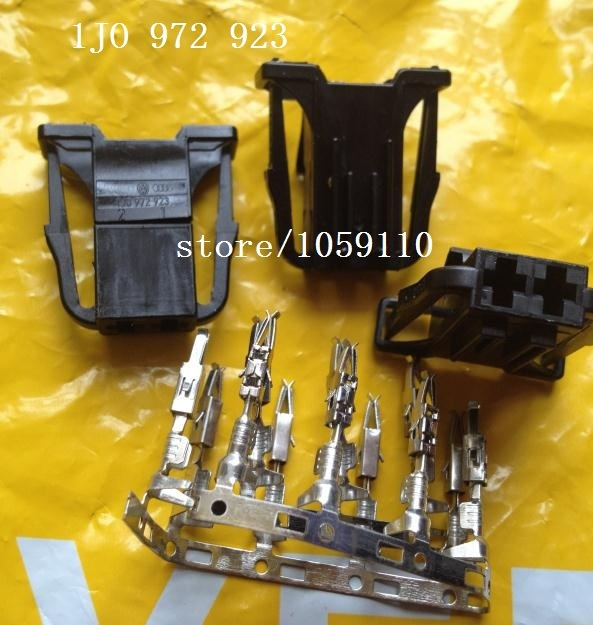 FOR VW door light taillight plug import 1J0 972 702 automotive wiring harness connector connector 1J0_640x640 aliexpress com buy for vw door light taillight plug import OEM Wiring Harness Connectors at readyjetset.co