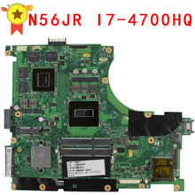 N56JR Motherboard for Asus i7 4700HQ N56JR REV2 0 Mainboard font b GeForce b font GTX760M