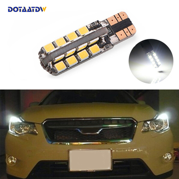 DOTAATDW 1x T10 W5W Samsung Car LED Parking Light For Subaru impreza legacy xv forester Outback Tribeca Fiat image