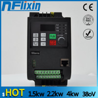 VFD 0.75kw 1.5kw 2.2kw 4kw input 380V 3 Phase output 380V frequency inverter converter variable frequency drive