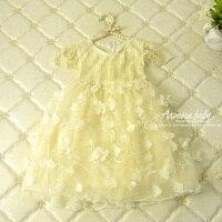 Aamina Petal Skirt Princess Dress Girls Dresses Summer 2016 Girls Clothes Wholesale China Clothing 5pcslot