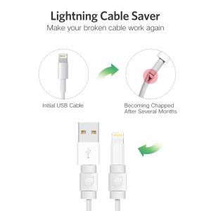 Image 2 - Ugreen Cable Protector For iPhone Charger Protection Cable USB Cord Saver Bite USB Cable Chompers For iPhone Cable Protector