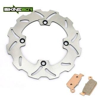 BIKINGBOY For Honda CR 125 R E 98 99 00 01 CR 250 R E 1997-2001 Rear Brake Disk Disc Pads Rotor CR125R CR125E CR250R CR250E