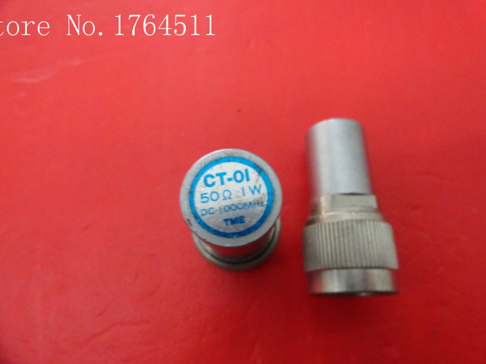 [BELLA] TME CT-01 DC-1000MHz 1W N Precision Coaxial Load  --5PCS/LOT